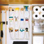 Almacenar productos de limpieza